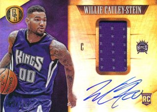 2015-16 PANINI GOLD STANDARD RC Jersey Auto Willie-Cauley Stein 【199枚限定】Rookie Star RS75様
