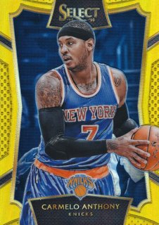 2015-16 PANINI SELECT Gold Prizm Carmelo Anthony 【10枚限定】Rookie Star RS22様