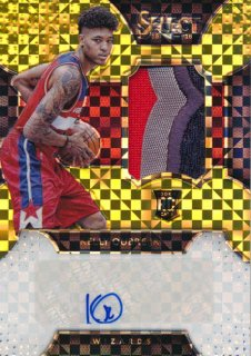 2015-16 PANINI SELECT RC Gold Patch Auto Kelly Oubre 【10枚限定】Rookie Star RS51様