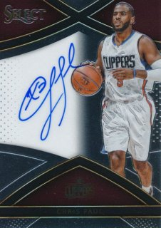 2015-16 PANINI SELECT Auto Chris Paul 【99枚限定】Rookie Star RS60様