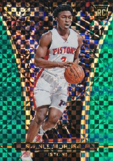 2015-16 PANINI SELECT RC Green Prizm Stanley Johnson 【 5枚限定】Rookie Star RS60様