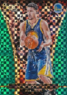 2015-16 PANINI SELECT Green Prizm Klay Thompson【 5枚限定】Rookie Star RS9様