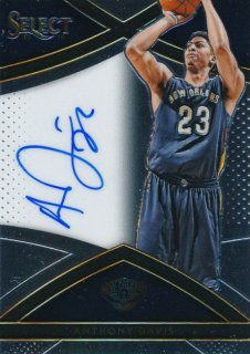 2015-16 PANINI SELECT Auto Anthony Davis 【99枚限定】Rookie Star RS69様