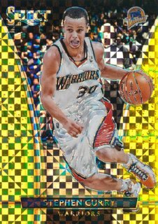 2015-16 PANINI SELECT Gold Prizm Stephen Curry 【10枚限定】Rookie Star RS51様