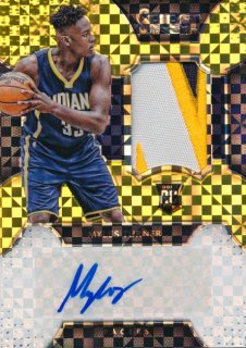 2015-16 PANINI SELECT RC Gold Auto Myles Turner 【10枚限定】Rookie Star RS60様