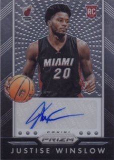 2015-16 PANINI PRIZM AUTOGRAPHS RC Justise Winslow / MINT池袋店 y@ma様