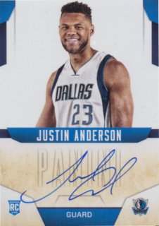 2015-16 PANINI ABSOLUTE NEXT DAY AUTOGRAPHS Justin Anderson / MINT池袋店 y@ma様