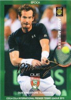 2015 EPOCH IPTL テニスカード RETAIL  Andy Murray  金箔サインカード  ミント札幌店 キャボション様