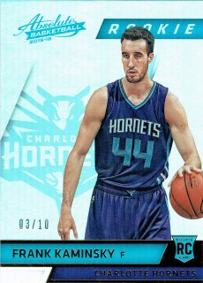 2015-16 PANINI ABSOLUTE Base Parallel Spectrum Gold FRANK KAMINSKY 【10枚限定】/MINT立川店 SO様