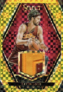 15-16 SELECT Gold Patch Kevin Love【10枚限定】えびすスポーツカード I32様