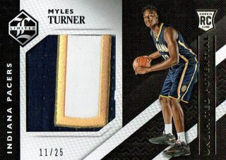 15-16 LIMITED Patch Myles Turner【25枚限定】えびすスポーツカード CP3様