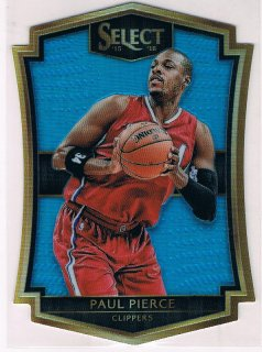 2015-16 PANINI SELECT Prizms Light Blue Die Cut Paul Pierce 【199枚限定】 / MINT新宿店543 YOSH様