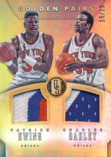 2015-16 PANINI GOLD STANDARD Patch Ewing Oakley 【25枚限定】Rookie Star RS3様