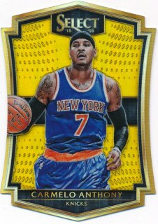 2015-16 PANINI SELECT Gold Carmelo Anthony 【10枚限定】Rookie Star RS9様