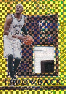 2015-16 PANINI SELECT Gold Patch Paul Pierce 【10枚限定】Rookie Star RS9様