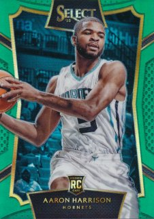 2015-16 PANINI SELECT RC Green Aaron Harrison【5枚限定】 Rookie Star RS16様