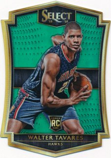 2015-16 PANINI SELECT RC Green Walter Tavares 【5枚限定】Rookie Star RS16様