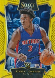 2015-16 PANINI SELECT RC Gold Stanley Johnson 【10枚限定】Rookie Star RS50様