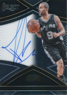 2015-16 PANINI SELECT Auto Tony Parker 【99枚限定】Rookie Star RS76様