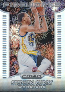 2015-16 PANINI PRIZM Fireworks Prizm Stephen Curry Rookie Star RS54様