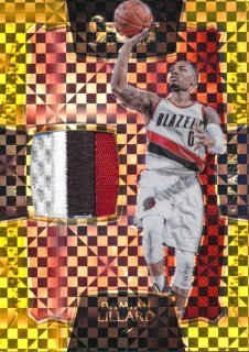 2015-16 PANINI SELECT Gold Patch Damian Lillard 【10枚限定】Rookie Star RS54様
