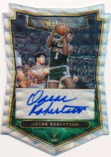2015-16 PANINI SELECT Wave Prizm Auto Oscar Robertson 【10枚限定】Rookie Star RS54様