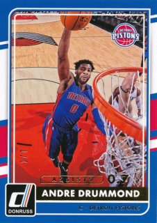 2015-16 PANINI DONRUSS Artist Proof Andre Drummond 【7枚限定】Rookie Star RS60様