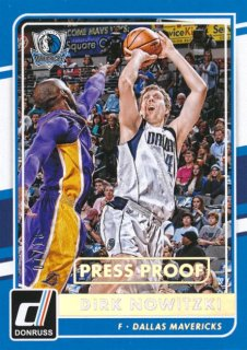 2015-16 PANINI DONRUSS Press Proof Dirk Nowitzki 【10枚限定】Rookie Star RS60様