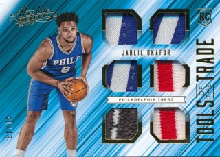 2015-16 PANINI ABSOLUTE Jersey Patch Jahlil Okafor 【49枚限定】Rookie Star RS61様