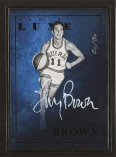 2015-16 Panini LUXE Larry Brown Black Framed Auto 1of1 コレトレ CP3様