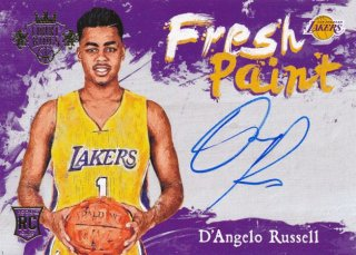2015-16 PANINI COURT KINGS Auto D'Angelo Russell Rookie Star RS66様