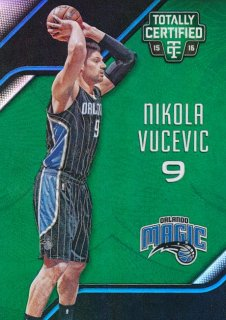 2015-16 PANINI TOTALLY CERTIFIED Green Nikola Vucevic【 5枚限定】Rookie Star RS66様