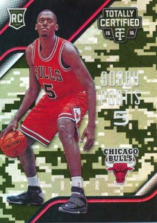 2015-16 PANINI TOTALLY CERTIFIED RC Camo Bobby Portis【 25枚限定】Rookie Star RS66様