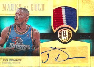 2015-16 PANINI GOLD STANDARD Patch Auto Joe Dumars 【25枚限定】Rookie Star RS67様