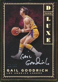 2015-16 PANINI LUXE Auto Gail Goodrich 【25枚限定】Rookie Star RS67様