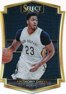 2015-16 PANINI SELECT Black Prizm Anthony Davis 【1枚限定】Rookie Star RS18様
