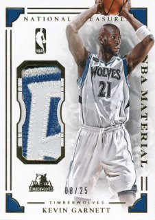 2015-16 PANINI NATIONAL TREASURES Patch Kevin Garnett 【25枚限定】Rookie Star RS61様