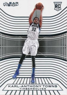 2015-16 PANINI CLEAR VISION RC Karl-Anthony Towns Rookie Star RS64様