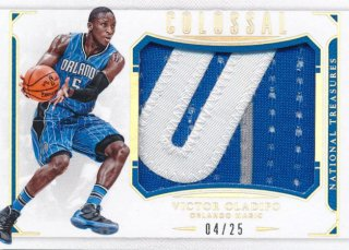 2015-16 PANINI NATIONAL TREASURES Colossal Patch Victor Oladipo 【25枚限定】Rookie Star RS64様
