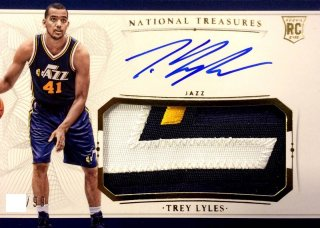 2015-16 PANINI NATIONAL TREASURES Jersey Auto Trey Lyles 【99枚限定】 / MINT新宿店597 NT15様