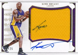 2015-16 PANINI NATIONAL TREASURES Colossal Auto Kobe Bryant 【25枚限定】Rookie Star RS16様