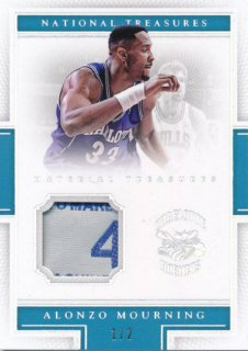 2015-16 PANINI NATIONAL TREASURES Tag Patch Alonzo Mourning 【2枚限定】Rookie Star RS78様