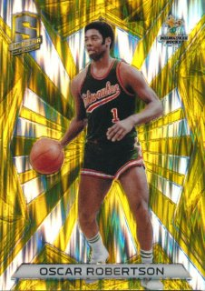 2015-16 PANINI SPECTRA RC Gold Prizm Oscar Robertson 【10枚限定】Rookie Star RS61様