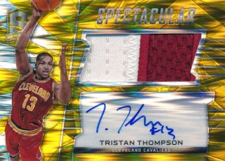 2015-16 PANINI SPECTRA RC Gold Prizm Patch Auto Tristan Thompson 【10枚限定】Rookie Star RS61様