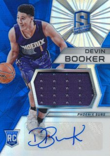 2015-16 PANINI SPECTRA RC Prizm Jersey Auto Devin Booker Rookie Star RS61様