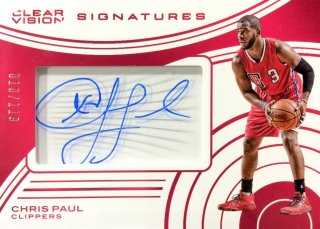2015-16 PANINI CLEAR VISION Clear Vision Signatures Chris Paul 【199枚限定】 / MINT新宿店605 KAZUZU様