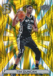2015-16 PANINI SPECTRA Gold Prizm Tim Duncan 【10枚限定】Rookie Star RS66様