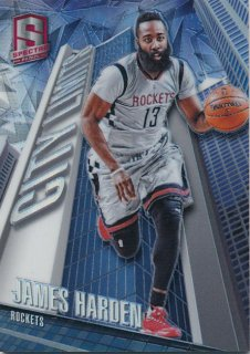 2015-16 PANINI SPECTRA City Limits James Harden Rookie Star RS67様