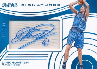 2015-16 PANINI CLEAR VISION Auto Dirk Nowitzki 【119枚限定】Rookie Star RS44様