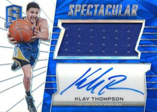 2015-16 PANINI SPECTRA Prizm Jersey Auto Klay Thompson 【35枚限定】Rookie Star RS68様